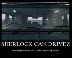 Sherlock -Sherlock Is Driving! by nfj123