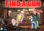 Find a gun by Azure-Zecron