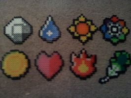 Kanto Pokemon Badges by devilmonkey16