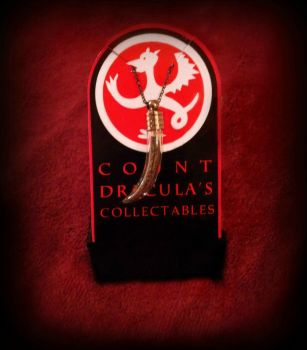 Count Dracula Pendant (For Sale!) by MythicalGamer