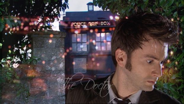 The Doctor -10 wallpaper- by Ashen-Star-Eclipse