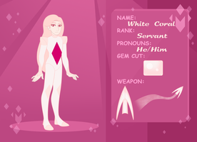 Magenta Diamond s Court Application: White Coral by Overgrandmapowerlord
