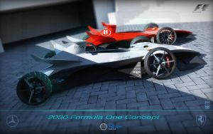 2030 F1 HFC concept by wizzoo7