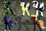 the evil six by evil-titan