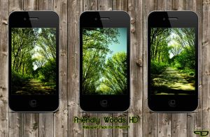 friendlyWoods HD WallpaperPack by PhilDesire