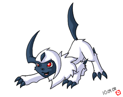 Absol by SneakingSniper