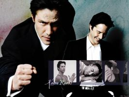 Keanu Reeves Wallpaper by jkthedragon