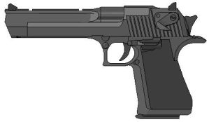 Desert Eagle by centerofthemind