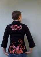 Get Well Octopus Shirt - Back by LupaMarie
