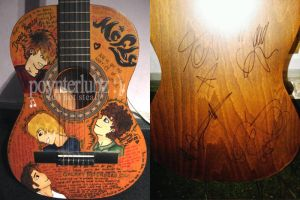 mcfly guitar by saint-looby