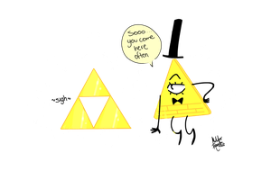 Triangles, triangles everywhere by MeeeLifer