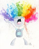 Gir rainbow splash by Elmo-John