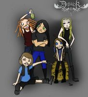 DETHKLOK by ObscuredBlues