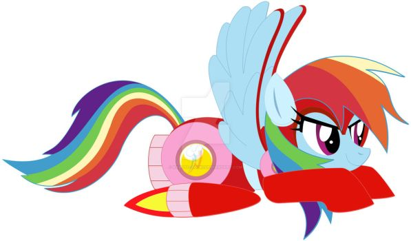 Get equipped with Rainbow Jet by kabuto-gouki