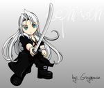 Sephiroth Vector by Shin-of-Fire