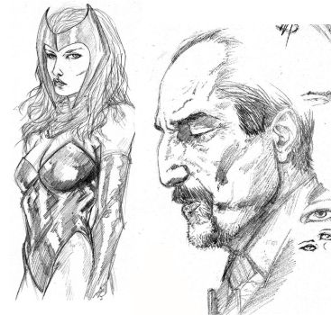 11192012 Sketches by anthonyharrisart