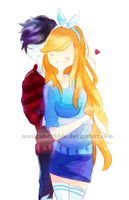 Marshall And Fionna 2 by musicalscribble