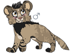 Contest Entry - SaberXLion -Cub Design by Madeleneerpen
