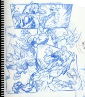 Thundercats Page Ruff by joverine