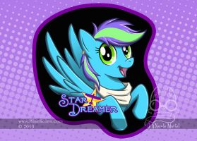 StarDreamer ConBadge by bluekoinu