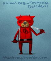 Daily Critter 013 of 365 Tasmanian Daredevil by jeff-aka-stray