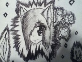 edit ink fox by goicesong1