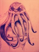 Cthulhu (Unfinished) by DyingBride3791