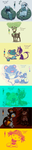 PMD Tumblr meme - Colour Pallette Challenge by Sanngot