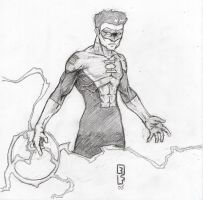 Green Lantern sketch by propsofprophecy
