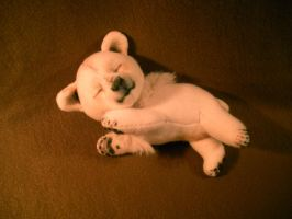 Sleepy Polar Bear by WhittyKitty