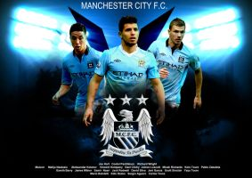 Manchester City Wallpaper by thomasdyke