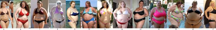 Women of Different Sizes in Bikini by EnergyToBeauty