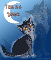 I will be a warrior by RukiFox