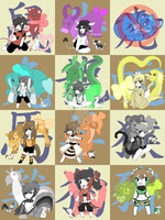 The Chinese Zodiac [CLOSED] by SBC-Adoptables