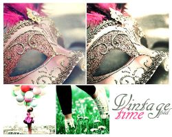 vintage time psd by memoriesinsecret