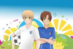 APH - World Cup 2014 England vs Italy by Mizuka-san
