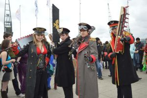 MCM Expo 2013 Imperial Commissars by Lady-Avalon