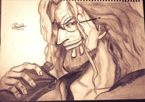 Silvers Rayleigh Sketch by Kouji134