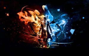DmC Dante : Within Demon and Angel by ATKNebula