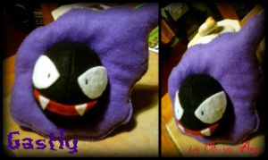 Gastly Plush by ChiisaiAmy