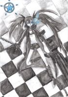 Black Rock Shooter by M-AXD