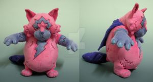 Moxie Prototype Plush by WhittyKitty