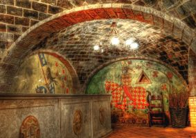 Inside The Castle Winery by stock-pics-textures