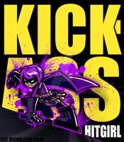 Kick-ass : Hit-girl by Kat-Nicholson