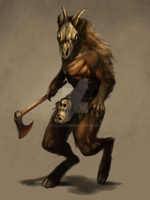 Goatman by JLazarusEB