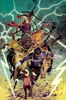 MARVEL ZOMBIES DESTROY! 5 by deadlymike