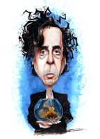 Tim Burton by monx-art