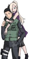 Ino and Shikamaru by Munchen