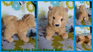 Douglas Ivy the Chow chow 8in by Vesperwolfy87