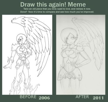 drawing revisited 2006-2011 by LittleEmoKitten